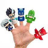 PJ_Masks Finger Puppets Theatre Set of 5