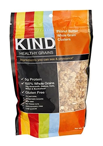 KIND FRUIT & NUT BARS CLSTR,PNUT BTR WHL GRAIN, 11 ()