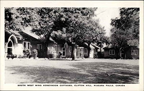 Wings Cottage - South West Wing Honeymoon Cottages Clifton Hill, Canada Original Vintage Postcard