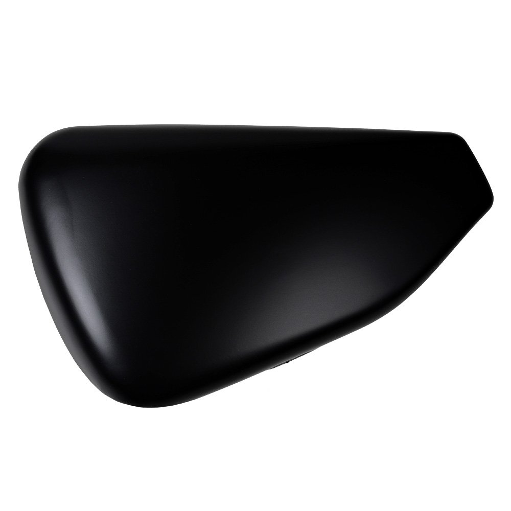 Matte Black Left Side Battery Cover Fit 14 15 16 17 Harley Sportster 1200 883 Seventy Two Forty Eight