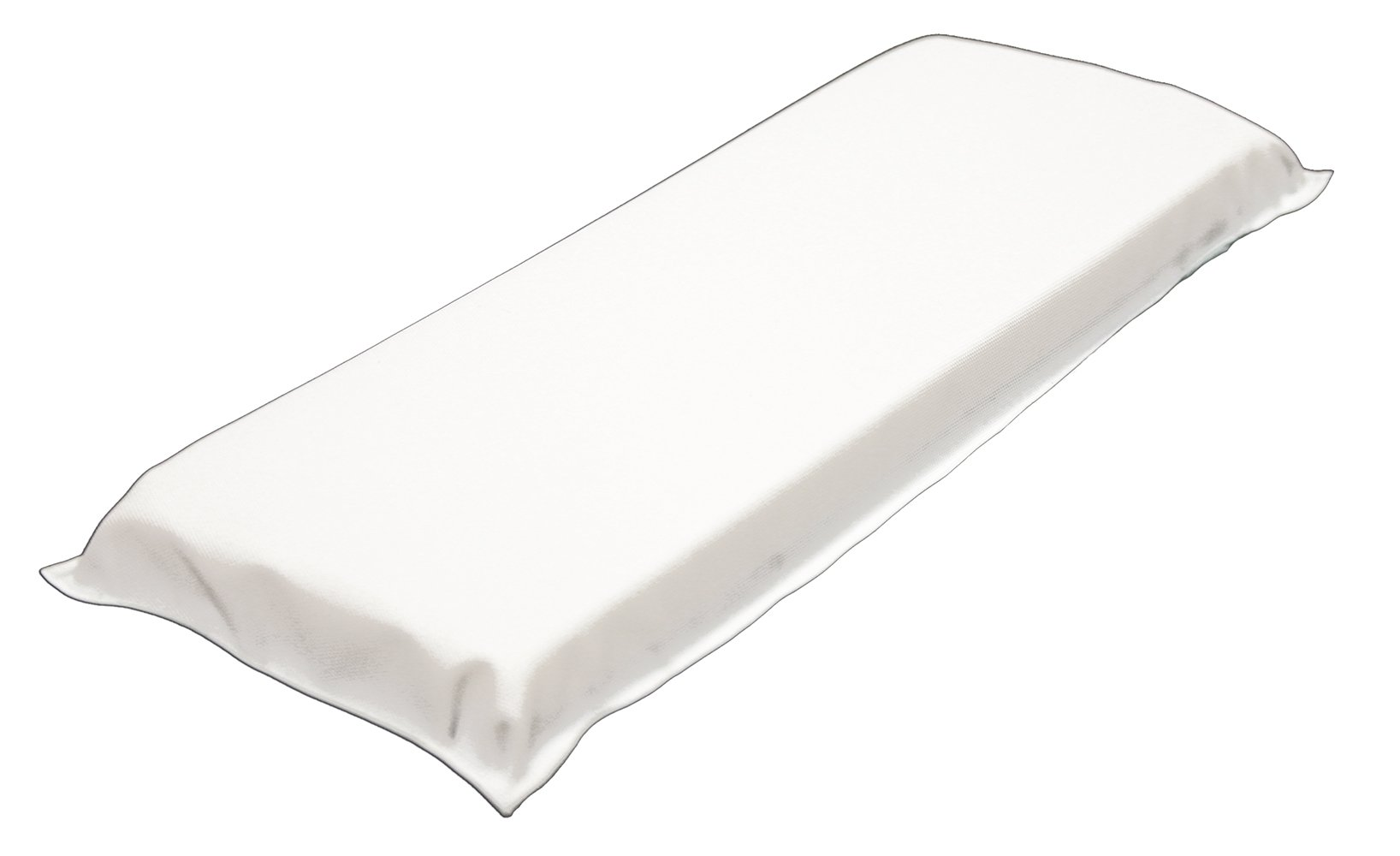 PDC Healthcare 45010-11-MPF Arm Board, Disposable, Vinyl, Infant, 2'' x 6'', White (Pack of 50)