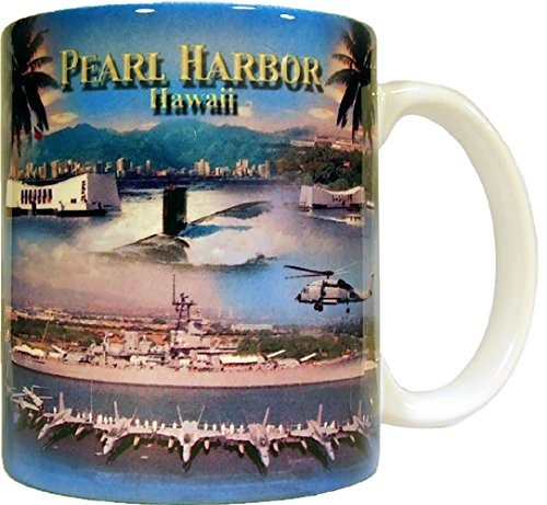 Pearl Harbor Panorama Coffee Mug 11 Oz. ()