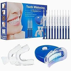 Gel Sbiancante per Denti, Aiooy Home Kit Sbiancamento denti per cure dentistiche con kit sbiancante professionale…