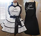 Mr. and Mrs. Bridal Apron Collection