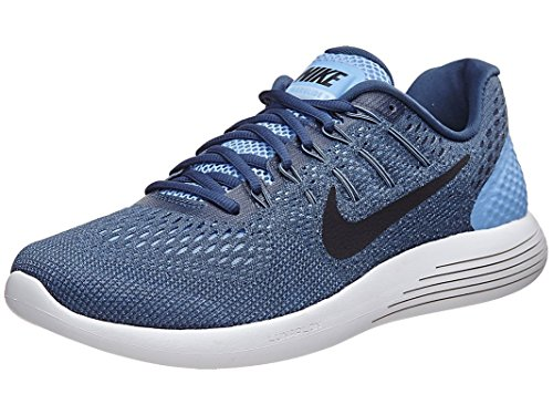 promo code 72f20 d3205 Galleon - Nike Men s LunarGlide 8 Running Shoe Light Blue Squadron  Blue Ghost Green Black 9.5