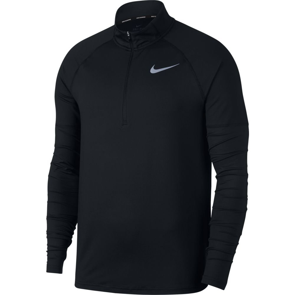 Nike Men's Element 1/2 Zip Running Top Black Size Small by Nike (Image #1)