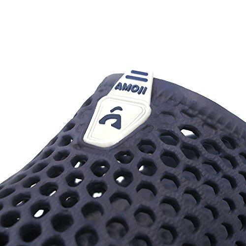 Amoji Unisex Garden Zuecos Zapatos Zapatillas Sandalias Navy