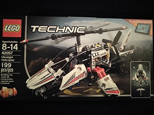 Lego Technic Ultralight Helicopter 42057 Ages 8-14 Experimental Aircraft 199 PCS New In Unopened Box