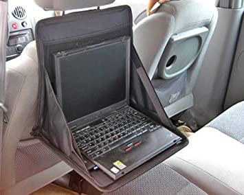 Foldable Car Seat Laptop Tray Table Food Holder
