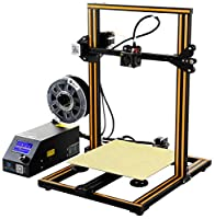 Official Creality Open Source CR-10 3D Printer All Metal Frame 12x12x15.5 Inch Build Volume and Heated Bed Includes Glass Bed from Creality 3D