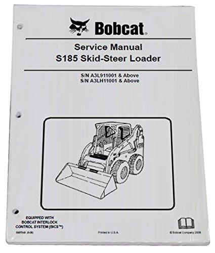 Amazon com: Bobcat S185 Skid Steer Complete Shop Service