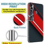Nainz Designer Printed Soft Silicone Back Case Cover for Tecno Spark 7 Pro Back Cover for Tecno Spark 7 Pro-D021