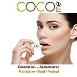 CocoMe Organic Virgin Coconut Oil Lip balm [3]-Pack.