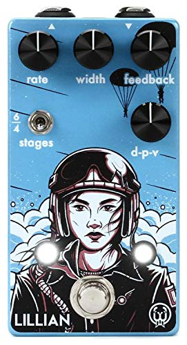 Walrus Audio Lillian Multi-Stage Analog Phaser Guitar Effects Pedal