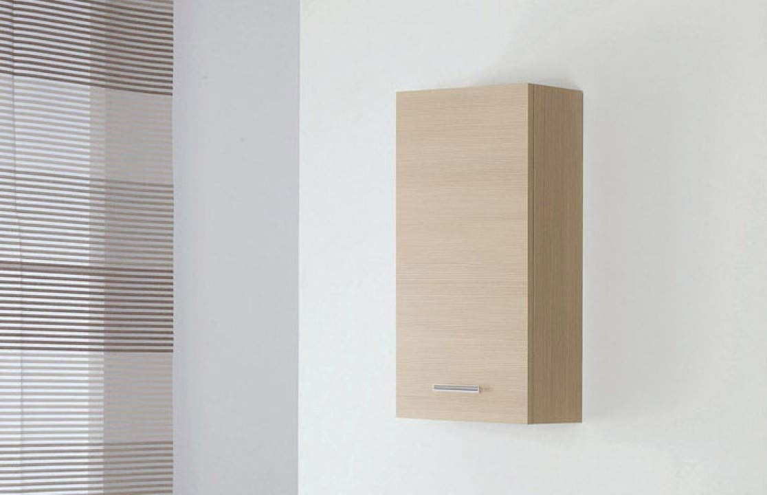 FERIDRAS Stella Pensile Singolo Bianco 1 Anta 18x35x70 cm