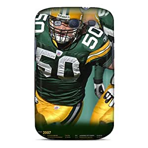 New Design Shatterproof DcS76utFq Case For Galaxy S3 (green Bay Packers)