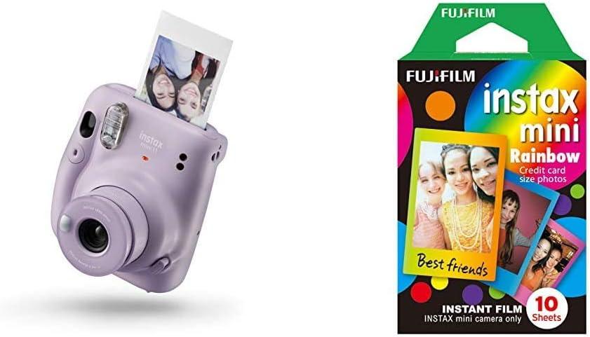 Instax Mini 11 Camera Lilac Purple Mini Frame Ww1 Kamera