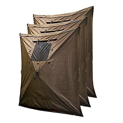Clam 10811 Wind Panels, (3 Pack), Camouflage