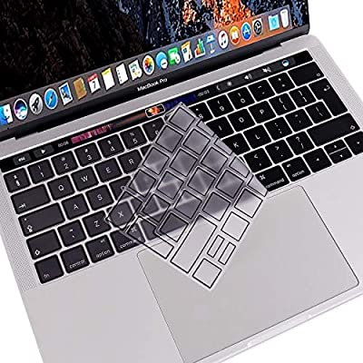 "EU//UK Type Keyboard Cover Skin For Apple MacBook Pro 13/"" 15/"" With Touch Bar 2016"