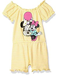 Baby Girls Minnie French Terry Romper