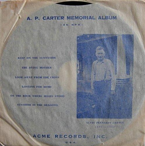 (A.P.Carter Memorial Album (1960))