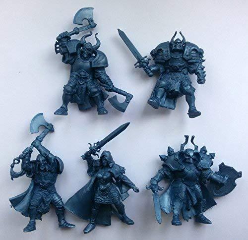 Fantasy Battles Undead Wariors 54 mm 1/32 - 5 Fantasy Figures Tehnolog Russian Toy Soldiers