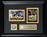 Midway Memorabilia bettis-cards Jerome Bettis Pittsburgh Steelers - 2 Card Frame