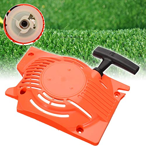 Choolle - Recoil Pull Starter Engine Motor Part Home Lawn Recoil Starter for Chainsaw 4500 5200 5800 45cc 52cc 58cc (Gardening Furniture B Q And)
