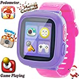 Kids Game Smart Watch [AR Pro Edition] for Ages 3-12 Girls Boys Back to School Children Learning Wristband with 1.5'' Screen Camera Pedometer Alarm Clock Fitness Tracker Digital Electronic Toy Gift