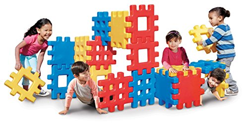 Giant Blocks (Little Tikes Big Waffle Block Set - 18 pieces)