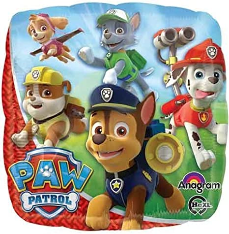 Mayflower Products The Ultimate Paw Patrol 3rd Birthday Party Supplies and Balloon Decorations