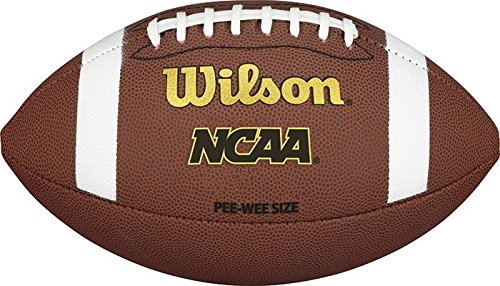 Wilson NCAA K2 Composite Football - Pee Wee ()