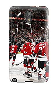 Durable Protector Case Cover With Chicago Blackhawks (36) Hot Design For Galaxy Note 3