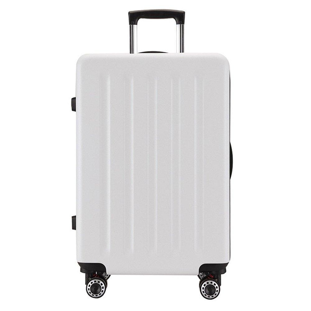 サイレントスーツケース レジャープルロッドボックスPC万向ホイール税関ロック荷物20、24インチ、旅行や搭乗用 B07V96FFNL