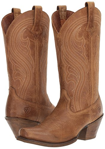 Ariat Women's Lively Western Cowboy Boot, Old West Brown, 9 B US by Ariat (Image #6)