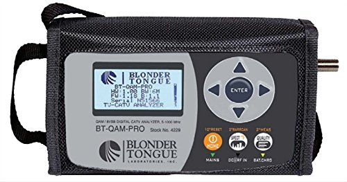 BT-QAM-PRO, Blonder Tongue QAM/8VSB/Analog Signal Analyzer