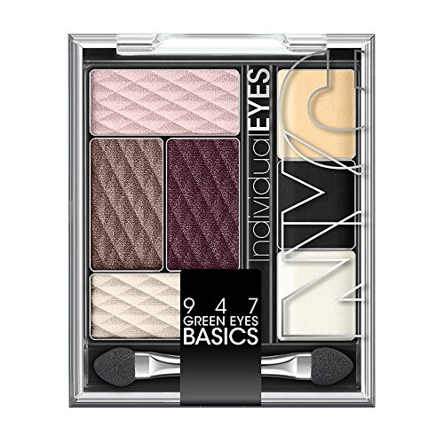 N.Y.C. New York Color Individual Eyes Eyeshadow Palette, Gre