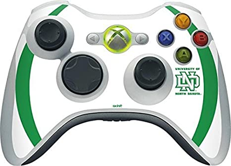 University of North Dakota Xbox 360 Wireless Controller Skin ...