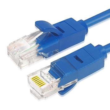 Amazon.com: SIUONI Cat5 - Cable de red Ethernet RJ45 para PC ...