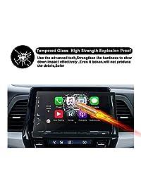 2018 2019 Odyssey Touring Pantalla de audio de 8 pulgadas Pantalla táctil Pantalla protectora de navegación para autos del automóvil, R RUIYA HD Película de vidrio templado transparente para el tablero de automóviles Película protectora