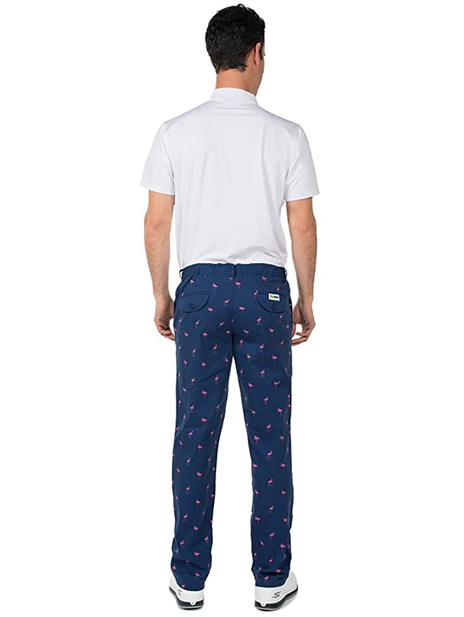 fe82afd1 Amazon.com: Tipsy Elves Men's Loud Golf Pants - Wild Golfing Pants Golf  Outfit for Men: Clothing