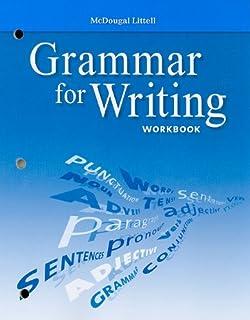 Mcdougal littell literature grammar for writing workbook grade 9 mcdougal littell literature grammar for writing workbook grade 10 fandeluxe Images