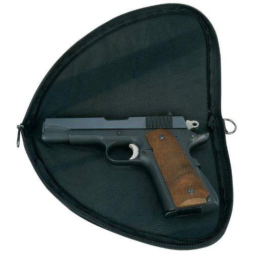 Classic Safari Pistol Rug, Black