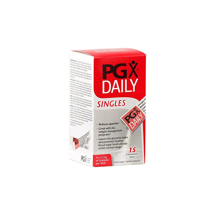 Natural Factors PGX Daily Singles 2.5g Supports Appetite Control