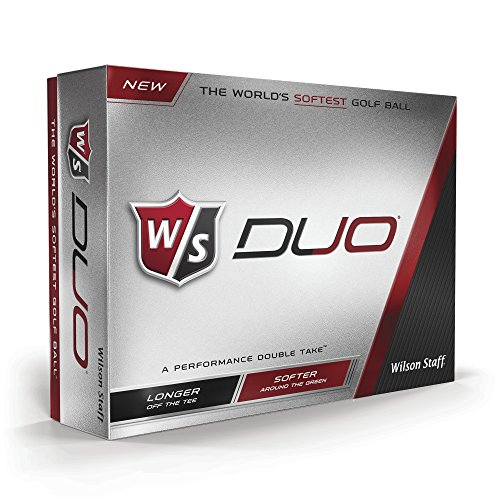 Wilson Staff Duo Golf Balls (12-Pack), White