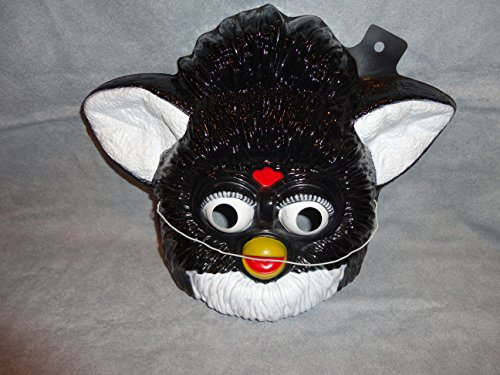 Black Furby PVC Mask Kid Size Rubies Halloween Dress (Furby Costumes)