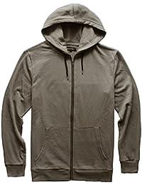 Men's Basic Lightweight Full-Zip Fleece Hoodie Sweatshirt