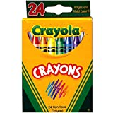 Crayola Crayons 24ct, Case Pack of 48, Ideal for Bulk Buyers