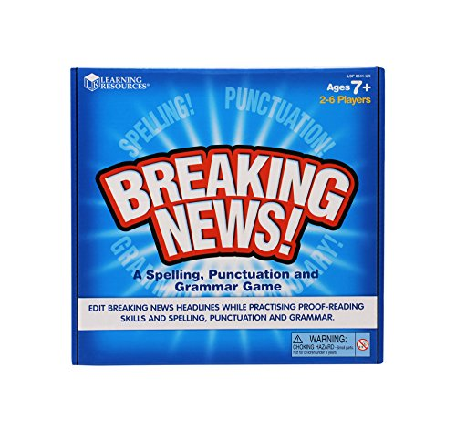 - Learning Resources Breaking News! Spelling, Punctuation and Grammar Game