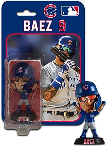 SP Images Javier Baez Chicago Cubs Bobblehead FOCO Stadium Lights LE //2018